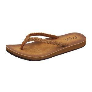 NWT! FLOJOS Tan Sky Sandal Size 6